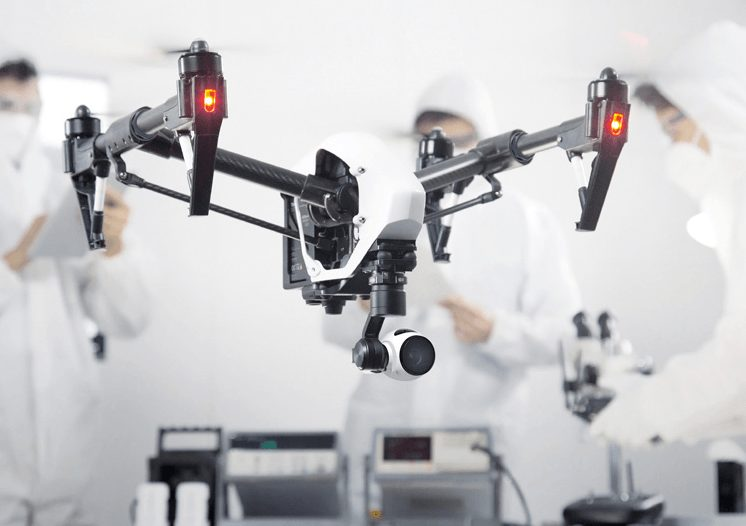 DJI's New Inspire Drone Takes 4K To New Heights