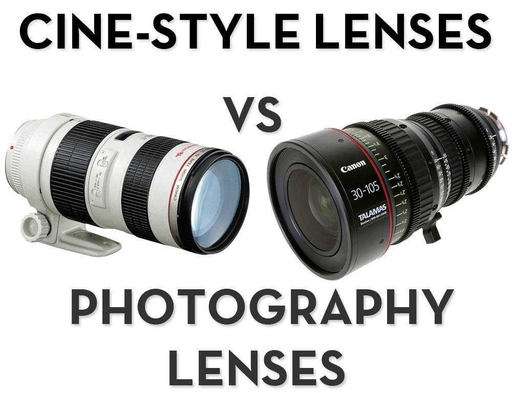 Cine-Style Lenses VS Still Photography Lenses