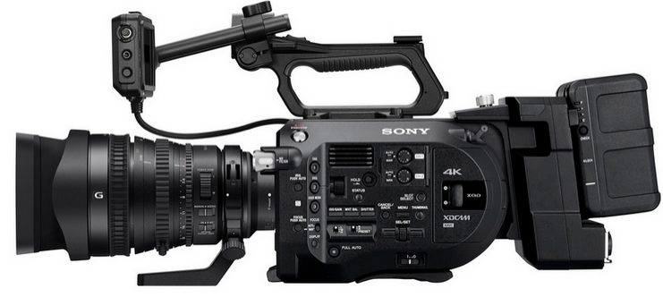Now Renting Sony FS7