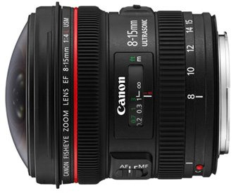 Rent Canon 8-15mm Fisheye Lens