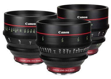 Canon Cinema CN-E Lens Set Rental