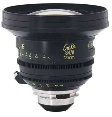 Rent Cooke S4 12mm Lens