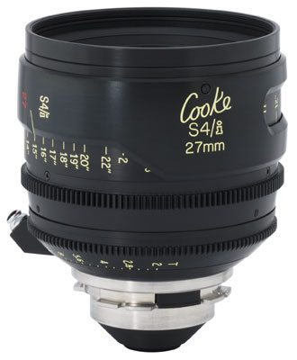 Rent Cooke S4 27mm Lens
