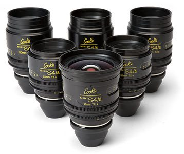 Rent Cooke S4 Mini Lens Set