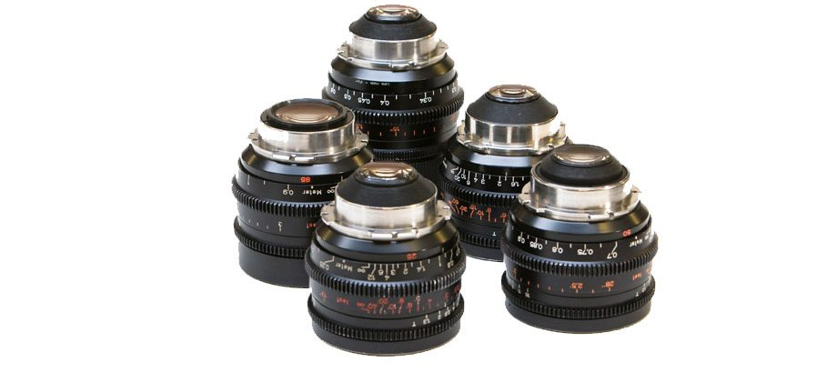 Rent Zeiss Standard Speed Lens Set
