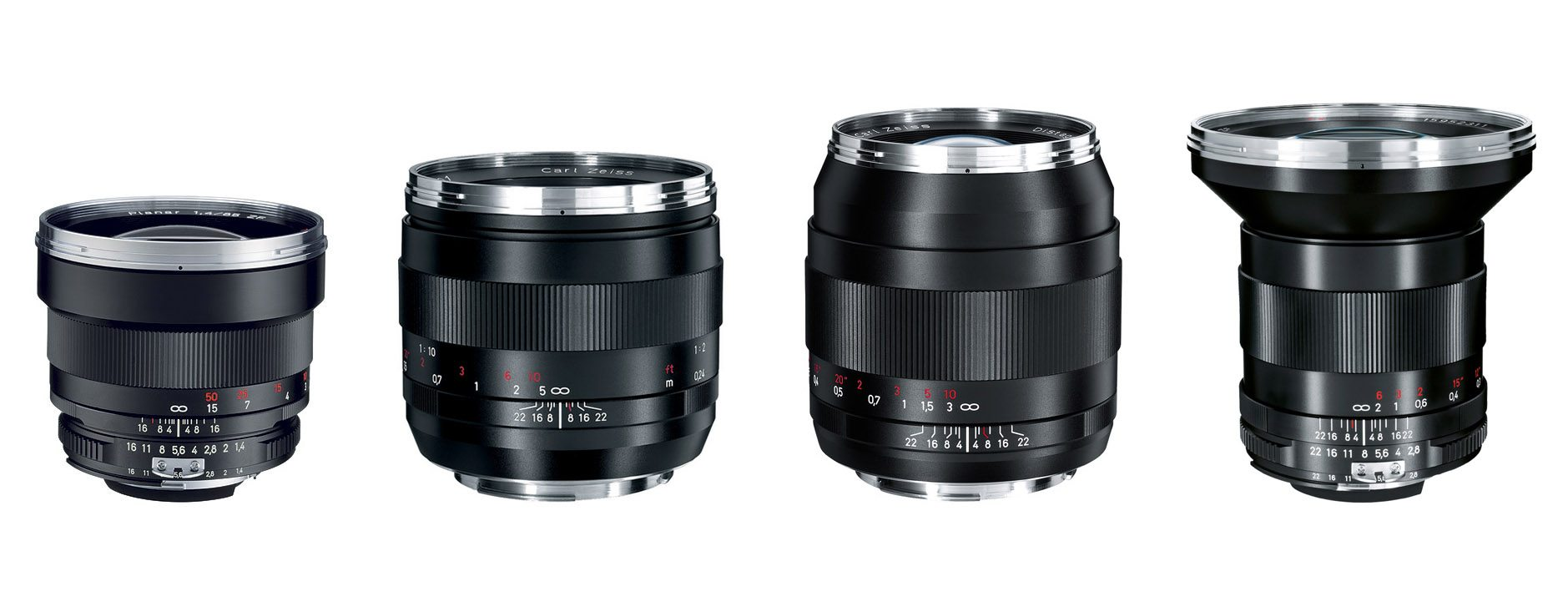 Rent Zeiss ZE Lens Set