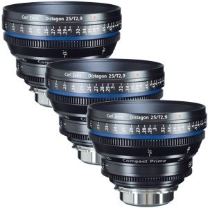 Zeiss CP.2 Super Speed Lens Set Rental