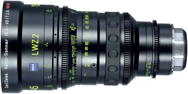 Zeiss LWZ.2 Lightweight Zoom 15.5-45mm PL Mount
