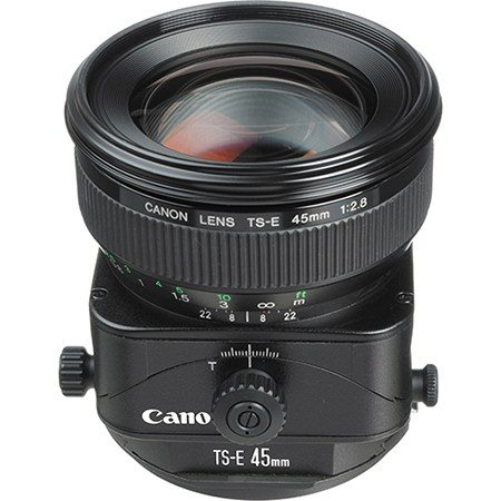 Rent Canon 45mm TS-E Tilt Shift Lens