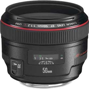 Canon 50mm f/1.2 L Series Prime Lens Rental