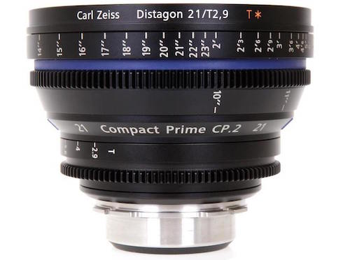 Zeiss Cp.2 21mm Lens Rental