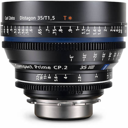 Zeiss cp.2 35mm lens rental