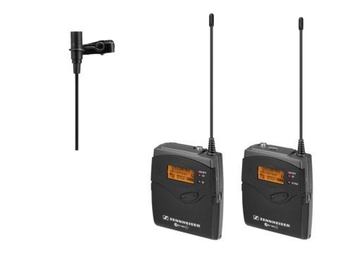 Sennheiser G3 Wireless Lavalier Kit with ME2 Lavalier Mic Rental