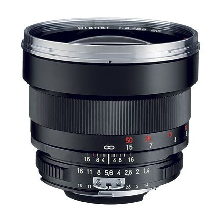 Zeiss ZE 85mm f/1.4 Planar Lens Rental