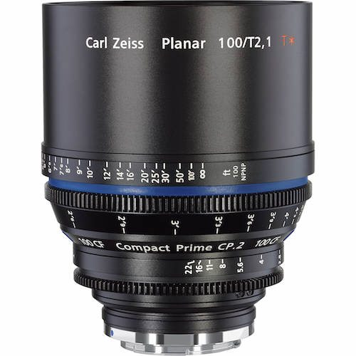 Rent Zeiss 100mm CP2 Lens