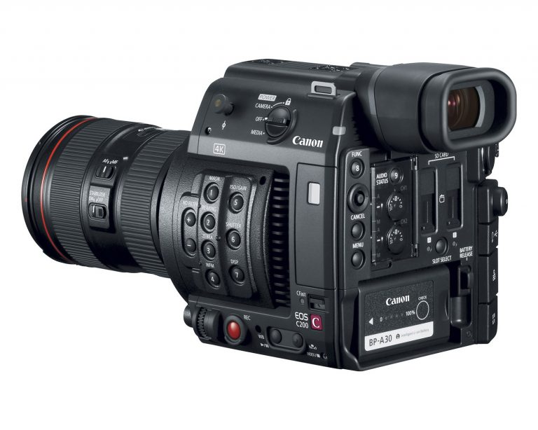 Now Renting: The Canon C200